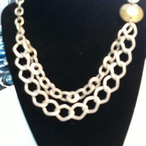 Vintage minimalist Statement necklace
